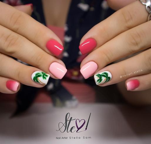 Tropical nails! - Tropical Nails! - Nail Art Gallery