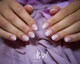 Short nails french fade