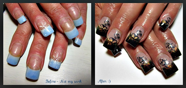Beauty And The Beast Nail Art Gallery