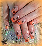 Stars In Orange