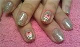 Gelish Glitter Cupcakes