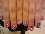 random nail art