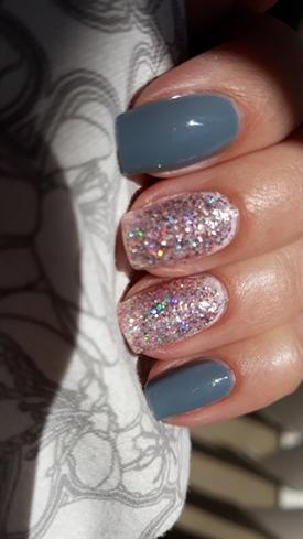 Gray And Glitter
