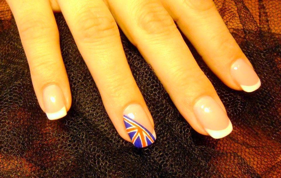 London Flag Nails Nail Art Gallery