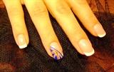 london flag nails
