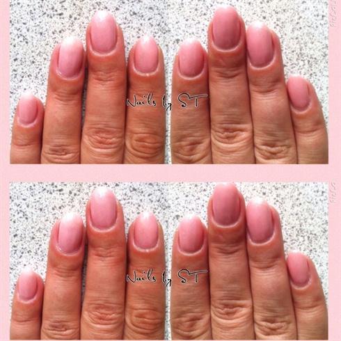 Pink Med fin Glimmer
