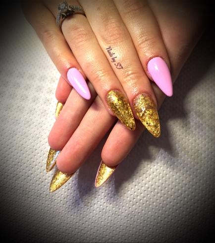 Pink Og Guld😍