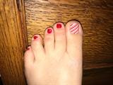 Christmas Toes :)