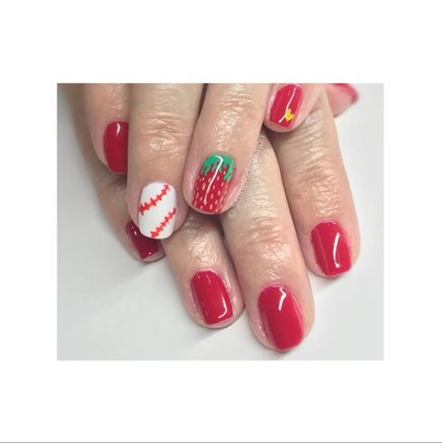 """Darryl"" Strawberry 🍓 Nails"