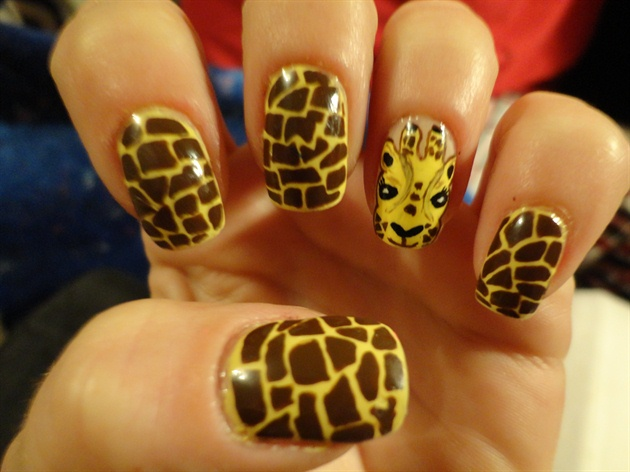 Giraffe Nail Art Gallery
