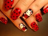 Ladybug Hello Kitty