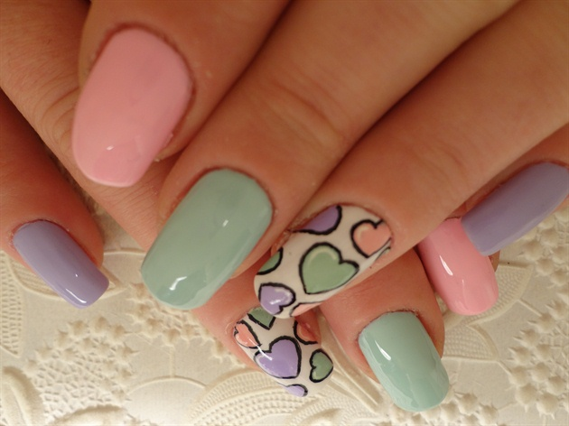 Cute Spring Hearts Inspired By Jsi1973