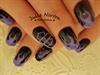 Friday the 13th Harley Davidson nails <3