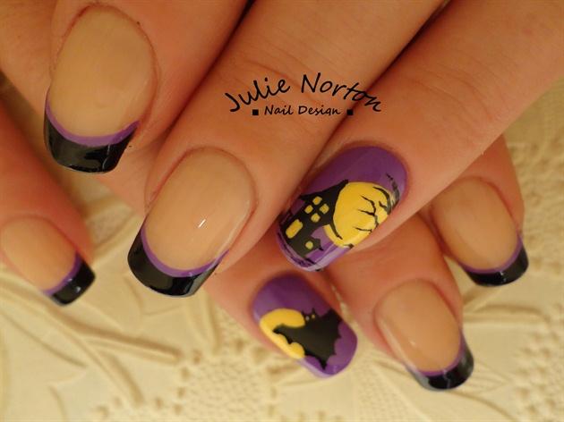 Cute n Spooky nails <3Inspired By OLI123
