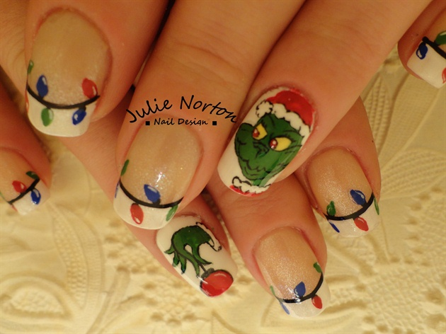 The Grinch Nail Art Gallery