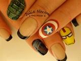 Avengers Nails