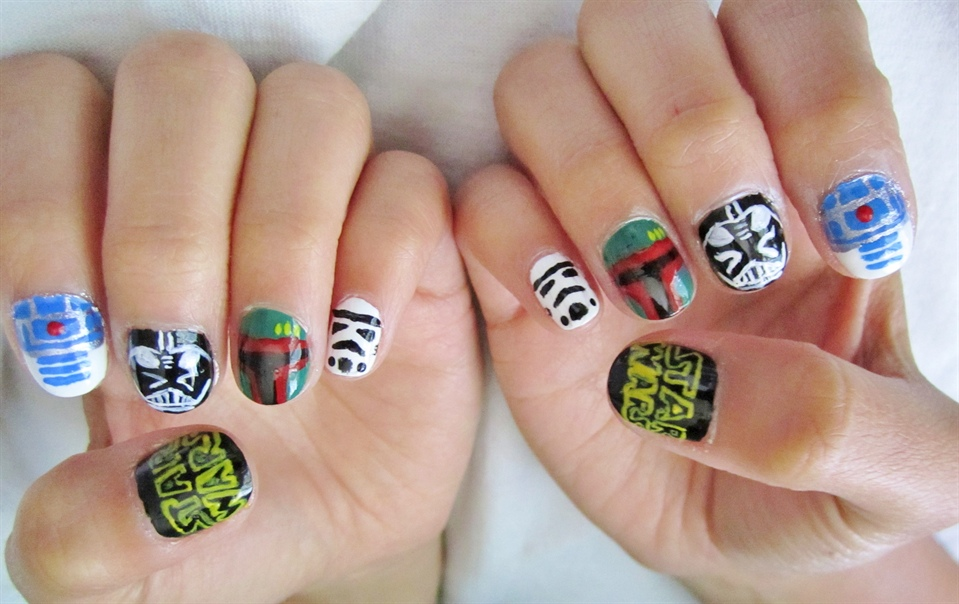 Star Wars - Nail Art Gallery