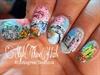 Spring Landscape Nails