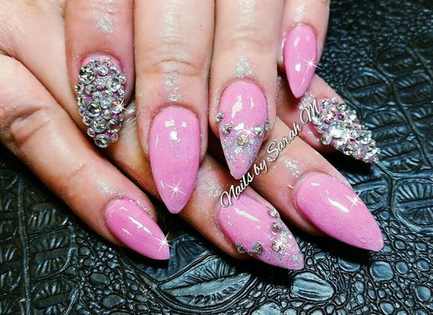 simple pink