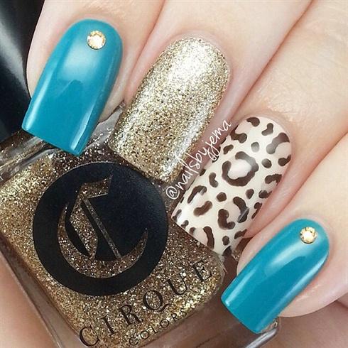 Cheetah Glitter