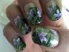 Tropical Jungle nails R