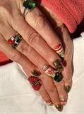 Christmas nails Part 2