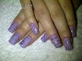 purple newspaper*