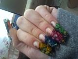 3d sculptured nail