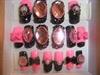 Pink & black rockstar bling