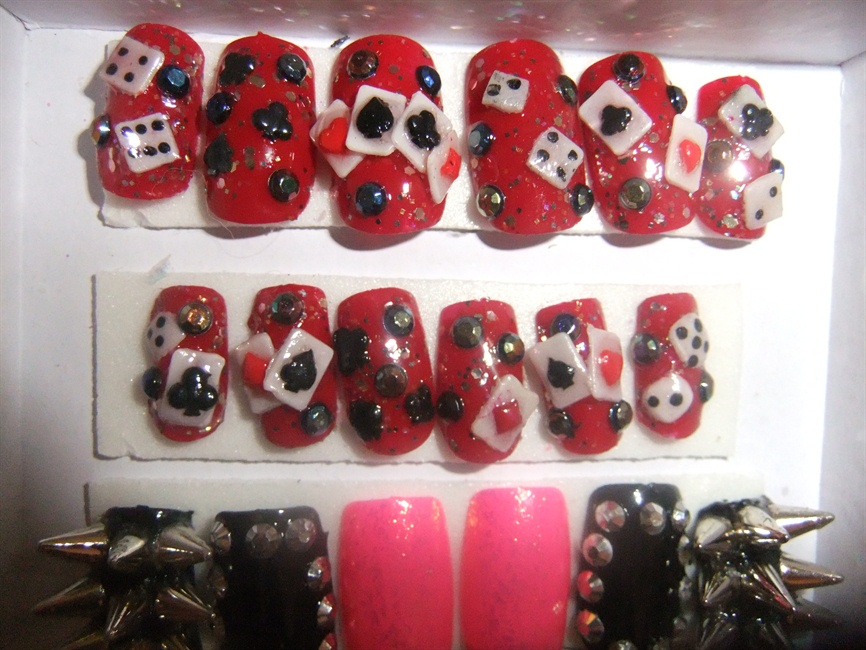 Las Vegas Casino Nails Nail Art Gallery