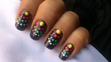 Dotted Nail Design