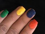 Velvet nails - Flocking Nail Art