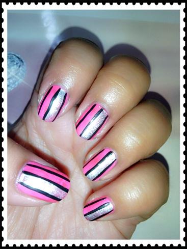 Stripes on Neon