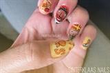 Sinterklaas nails