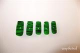 Horizontal print nails
