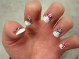 Snow Men Nail Art - Inspired by Robin Mo