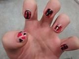 Bloody Valentine's Nails