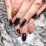 Black + Gold!
