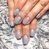 Grey + Glitter!