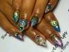 Custom Glitter Nails