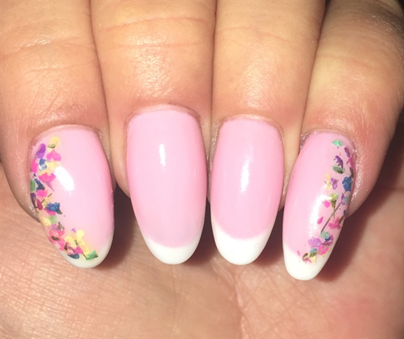 Pink French Floral