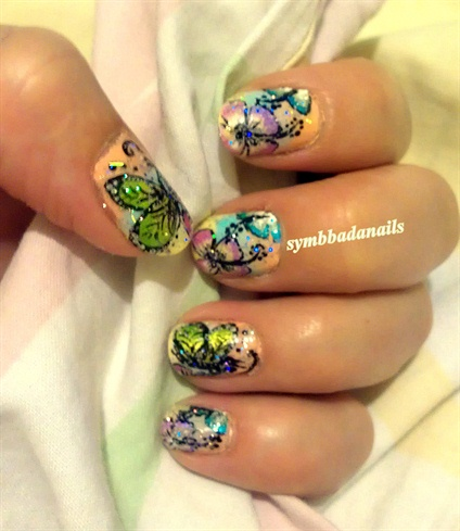 "SUMMER ""CARTOON LIKE"" NAIL ART"
