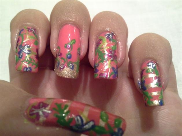 Hot Pink Tropics