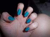 Matt turquoise