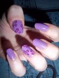 Light purple & flowers