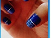 Nail Art Camaïeu De Bleu