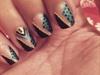 Nail Art Choc And Chic