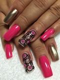 Pink, Black & Gold