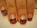 pink/black swirl