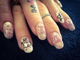 Rose Foil Love & Pearls